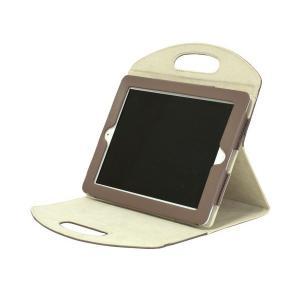 iPad2012年発売モデル/iPad2用キャリーバッグ ブラウン×アイボリー IPD3-11-BRGY skygarden