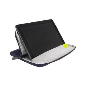 golla ゴラ iPad用 簡易スタンド バッグ CHRINA パープル G1462 skygarden