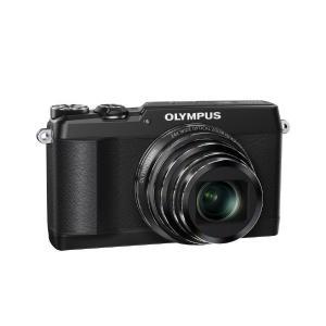 OLYMPUS デジタルカメラ STYLUS SH-1 ブラ...