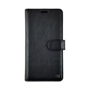 Uunique  iPhone X ケース Genuine Leather slider Folio Wallet Black UUIP8LF002 skygarden