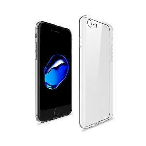 [WOEXET] iPhone 7 ケース iPhone 8 ケース 高品質TPU 極薄軽量 透明 滑り防止 指紋防止 アイフォン7カバー アイフォ|skygarden