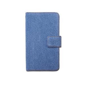 iPhone7 / iPhone8 デニム 手帳型 ケース カバー iPhone8ケース iPhone8カバー アイフォン8 【内側黒TPU】 iP|skygarden