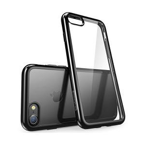 i-Blason iPhone8 / iPhone7 ケース 高品質 アイフォン8/ 7ケース 薄型 軽量 (Haloシリーズ 透明/黒)|skygarden