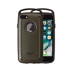 iPhone8 iPhone7 ケース 【ROOT CO.】 GRAVITY Shock Resist Case Pro. /カーキ 落下 衝撃吸収|skygarden