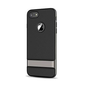 JEDirect iPhone8 7 ケース 二層スリム保護 耐衝撃カバー 炭素繊維強化 アイフォン...