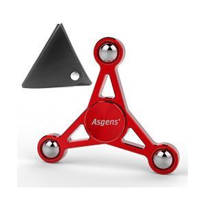 【Asgens】 ハンドスピナー 指スピナー 指先こま玩具-ジュラルミン 金属製 超軽量 超耐久性の高速度 ボールベアリング Hand spinne|skygarden