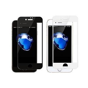 Mobile Goods Online iPhone6s iPhone6 強化ガラス液晶保護フィルム 樹脂製フレーム ホワイト MGGF010100|skygarden