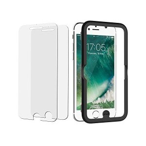 JEDirect iPhone 8 Plus 7 Plus 6s Plus 6 Plus用 液晶保護...