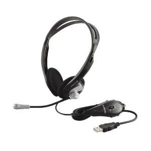 【2009年モデル】ELECOM USBヘッドセットマイクロフォン オーバーヘッド 両耳 シルバー 【PS4対応】 (PS3対応) HS-HP06U skygarden