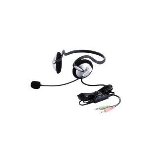 【2010年モデル】ELECOM ヘッドセットマイクロフォン 両耳ネックバンド 1.8m HS-NB02SV skygarden