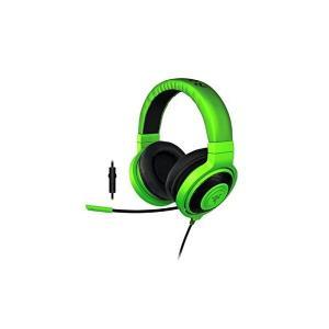 Razer Kraken Pro 2015 Green ステレオゲーミングヘッドセット 【正規保証品】 RZ04-01380200-R3M1|skygarden