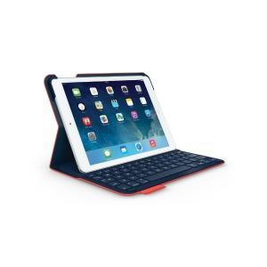 LOGICOOL ウルトラスリム キーボード フォリオ for iPad Air レッド TF725SERD|skygarden