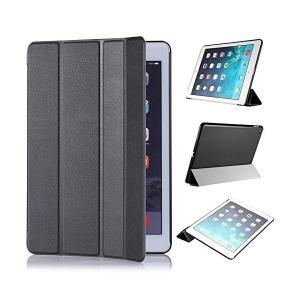 Apple iPad Air 2 ケース,【選べる5色】【JPIVSO】オリジナルApple iPad Air 2 専用カバー スマートケース 超薄 skygarden