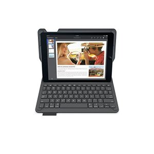LOGICOOL キーボード体型保護ケース for iPad Air 2 ブラック iK1051BK|skygarden
