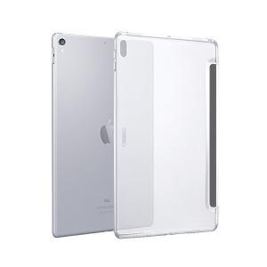 ESR iPad Pro 12.9 ケース(2017年版) クリア バックカバー 軽量 スマートキー...