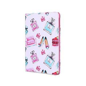 iPad 9.7 ケース 2017 / 2018 第5世代 第6世代 アイパッド 9.7インチ カバー 可愛い おしゃれ 香水ボトル風 パフューム柄 skygarden