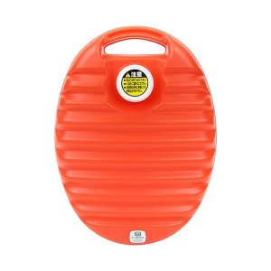 協越化学 あんしん湯たんぽ 3.0L 袋付 オレンジ|skygarden