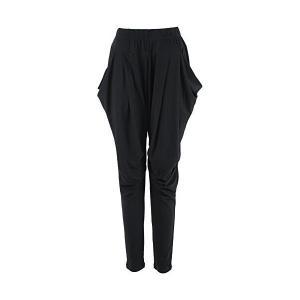 (クローバーデポ) CLOVERDEPOT 全20色 3サイズ サルエル パンツ ダンス 衣装 ヨガウェア L ブラック|skygarden
