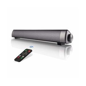 PCスピーカー ステレオ サウンドバー テレビ パソコン 最適 スピーカー 高音質 小型 大音量 ワイヤレス USB SoundBar Speake|skygarden