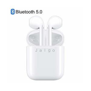 【最新 Bluetooth5.0】 ワイヤレスイヤホン ブルートゥース高音質 自動ON/OFF自動で接続ペアリング両耳通話 5時間連続音楽再生可能i|skygarden