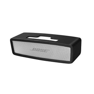 Bose Soundlink Mini I / II Bluetoothスピーカー用ケースソフト旅行用キャリングシリコン保護カバー (黒)|skygarden