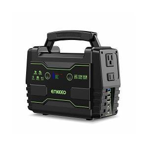 enkeeo ポータブル電源 S155 42000mAh/155Wh 家庭用蓄電池 LED大画面表示...