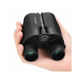 OMZER 双眼鏡 12X25 コンパクト コンサート 12倍 高倍率 高解像度 ナイトビジョン 軽量 小型 防水 折り畳み 観劇 ライブ 歌舞伎|skygarden