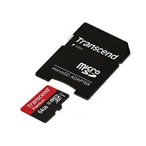 Transcend microSDXCカード 64GB Class10 UHS-I対応 Ninten...