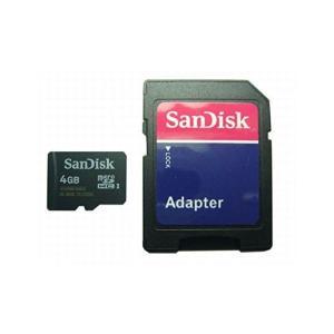 サンディスク microSDHCカード 4GB Class4 バルク品  UHS-1|skygarden