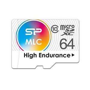 シリコンパワー 高耐久 ドライブレコーダー用 microSDXCカード 64GB Class10 MLC NANDフラッシュ採用 2年保証 SPA0 skygarden