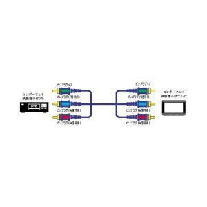 JVCケンウッド ビクター ピンプラグX3-ピンプラグX3コンポーネントビデオコード 5M VX-D150E|skygarden