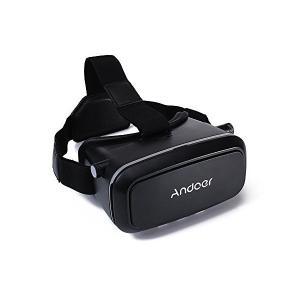 Andoer CST-09版 3D メガネ VR 3Dゴーグル バーチャル/リアリティ DIY 3D VR ビデオ 映画 ゲーム ヘッドバンド付き skygarden