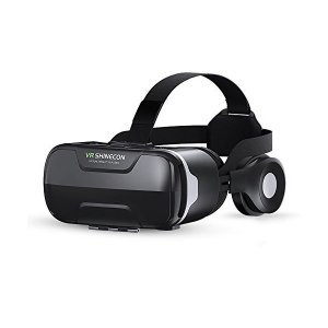 Cierv VR ゴーグル イヤホン付き 3D動画/ゲーム/映画/3D映像効果 iPhone x 6/7/8 plus/SONY/SHARP/HTC skygarden