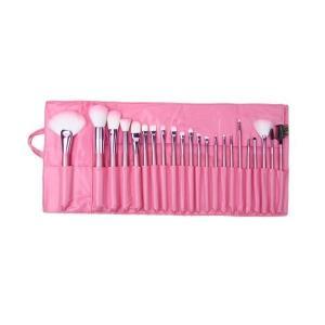 Flylink 化粧ブラシセット メイクブラシセット 可愛いピンク専用収納ケース付き 22本セット|skygarden