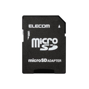 ELECOM microSDメモリ 変換アダプタ MF-ADSD002|skygarden