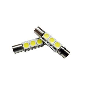 まめ電(MAMEDEN) バニティランプ led t6.3×30 ホワイト 白 LED バニティミラー|skygarden