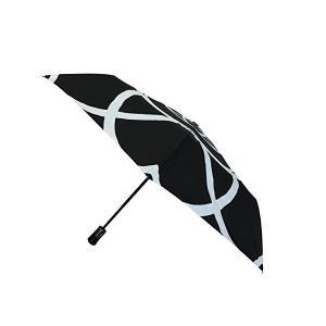 SMATI フランスのブランド カメリア 椿 折りたたみ傘 コンパクト 自動傘 高強度グラスファイバー採用 頑丈な親骨 skygarden