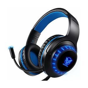 ゲーミングヘッドセットps4 ゲーミング ヘッドセット3.5mmコネクタ 高集音性マイク付 PCゲーム用ヘッドホン パソコン PS4 Nintend|skygarden