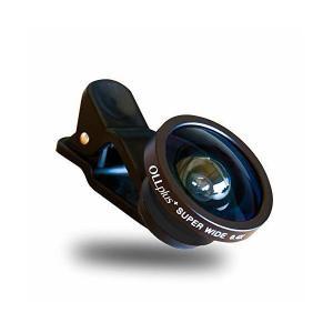 OLLplus+ 高画質セルカレンズ 0.4X ワイド ガラスレンズ採用 (ブラック)|skygarden