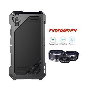 iPhone xカメラレンズキット,Savman 3 in 1 198 °魚眼レンズレンズ+ 15 xマクロレンズ+広角レンズ、ip54防塵耐衝撃ア|skygarden