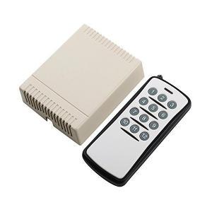 UHPPOTE DC12V 12CHチャネル無線RFリモート制御スイッチ リモコン ラーニングコード 送信機受信機|skygarden