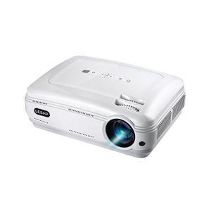 LESHP LEDプロジェクター 3200lm 1080P 1920*1080最大解像度 HDMIケーブル付属 ホームシアター パソコン/スマホ/タ|skygarden