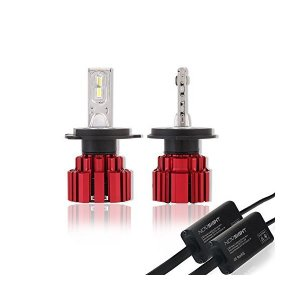 NOVSIGHT H4hi/lo LEDヘッドライト車検対応 13600lm(6800lmx2) 80w~86w(40w~43wx2) 6000K|skygarden