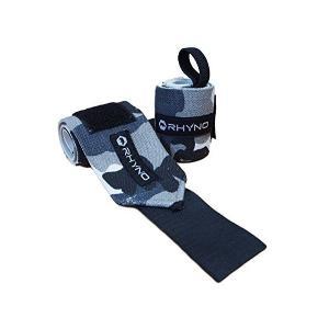 RHYNO(ライノ) リストラップ リストストラップ/トレーニング 筋トレ 手首 の 保護 サポーター / 選べる4色 (ブラック)|skygarden
