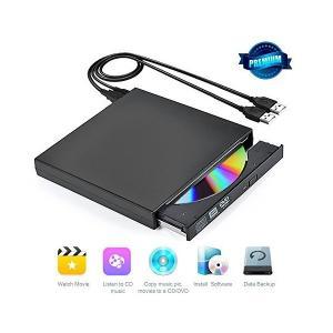 CDドライブ 外付記録型CDドライブ 外付けCDドライブ USB2.0 超薄型 ノートパソコン、ラップトップ PCに適合 Windows 2000/|skygarden