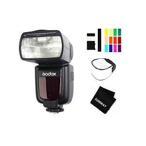 Godox TT600 ストロボ 内蔵2.4Gワイヤレス高速同期1/8000sカメラフラッシュスピー...