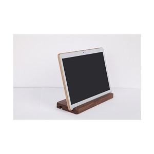 桜の雪 自然木製 iPad Android タブレットPC Nexus Galaxy対応 デスクトップスタンド 端末スタンド|skygarden