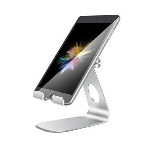タブレット スタンド ホルダー 角度調整可能, Lomicall iPad用 stand : 卓上縦置きスタンド, タブレット置き台, デスク台,|skygarden