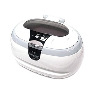 PLATA 超音波洗浄機 メガネ洗浄器 超音波洗浄器 超音波クリーナー ソニックウェーブ 卓上型 洗浄ホルダー付き 腕時計 アクセサリー 眼鏡 めが|skygarden