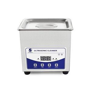 小型業務用超音波洗浄機 60W メガネ 時計 アクセサリー 超音波クリーナー Ultrasonic Cleaner Sonic Wave Clean|skygarden